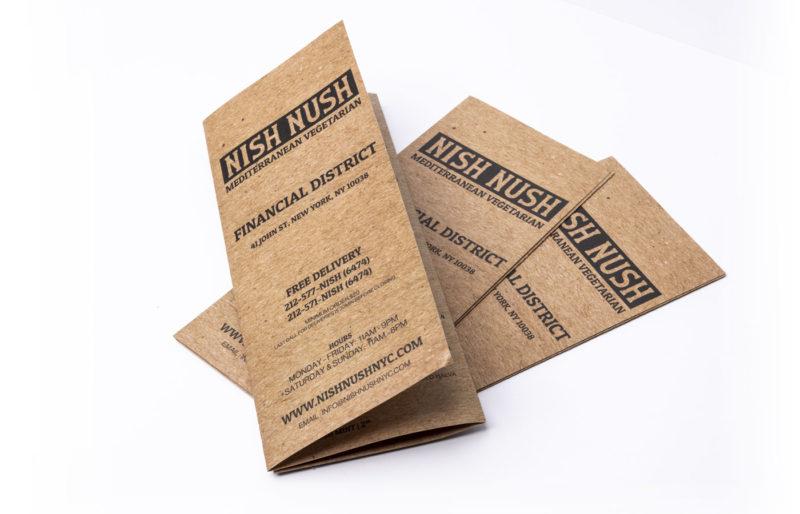 Disposable Restaurant Menus 10