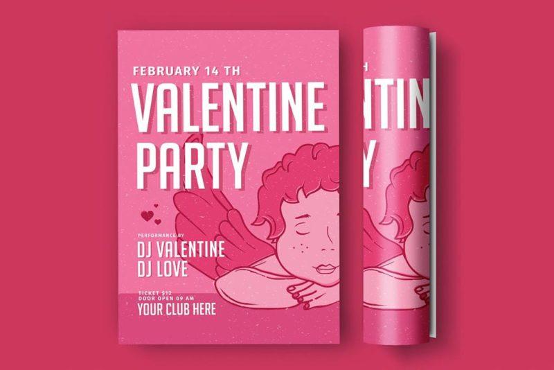 Valentine's Day Flyers